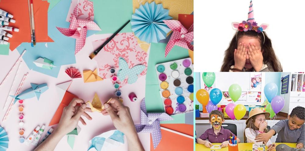 atelier créatif anniversaire enfant, atelier enfant à domicile