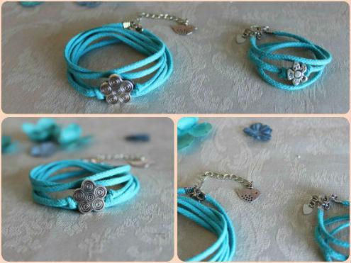 bracelets duo maman bébé, bracelet été, parfait cadeau de naissance,fête des mères