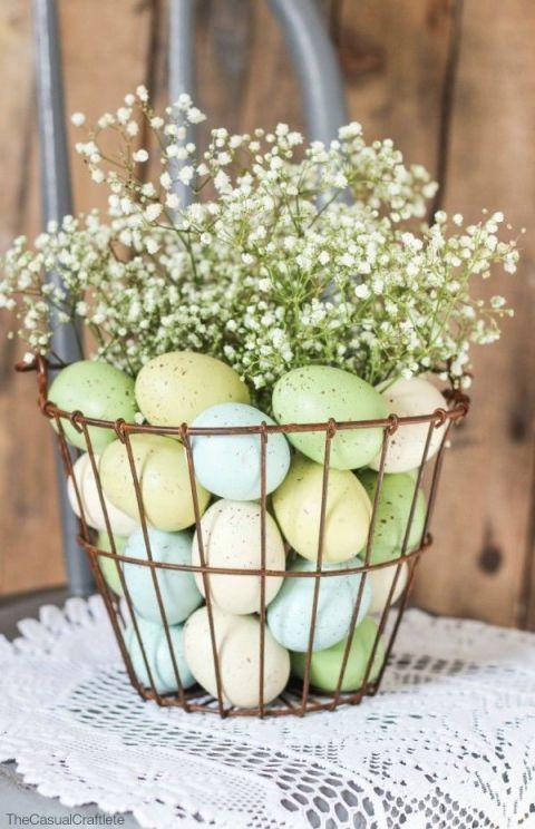 décoration oeufs de Pâques