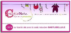 creationata, création de faire-part de naissance, partenaire de baby libellule,code reduction