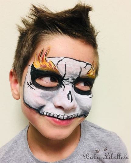 animation noel, fête enfant, maquillage enfant, grimage, anniversaire enfants, animation enfants 06, enfant paca, maquillahe halloween, maquillage tête de mort, face paint,, grimage